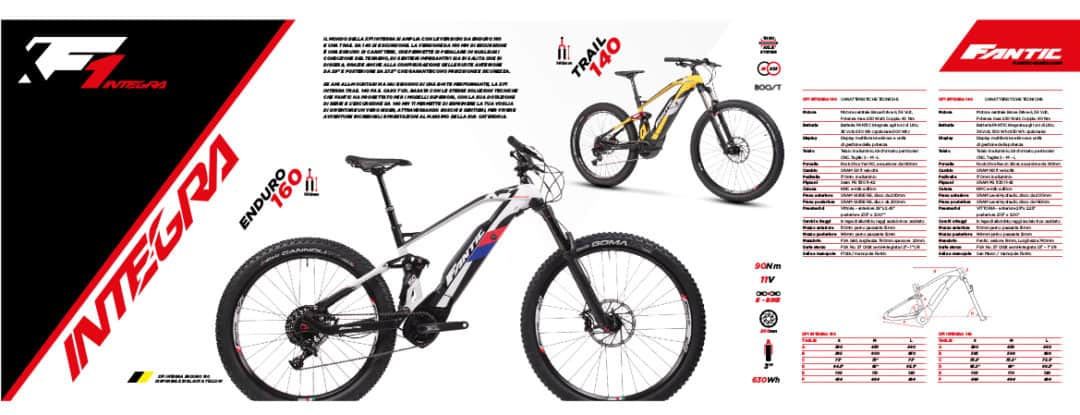 FANTIC XF1 INTEGRA ENDURO 160
