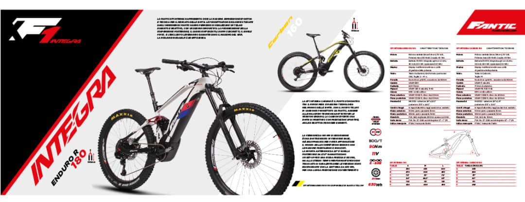 FANTIC XF1 INTEGRA ENDURO 180